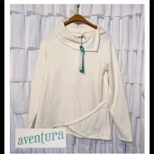 AVENTURA Fleece Pullover NWT! Sz S